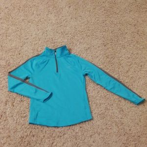 Champion Girl DUO DRY long sleeves top
